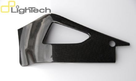 Lightech Carbon Fibre Swingarm Protection Yamaha YZF R1 (09-14)